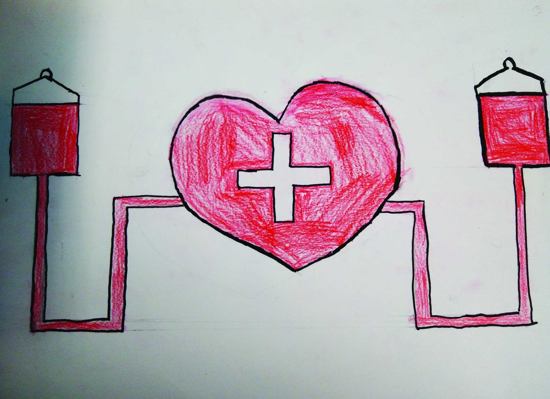 Le Riverain - Dessiner pour le don du sang