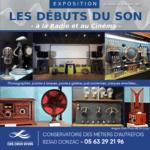 """Conservatoire des Métiers d'Autrefois : EXPOSITION """"Les débuts du son – à la radio et au cinéma"""""""